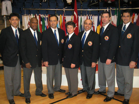 world karate referees