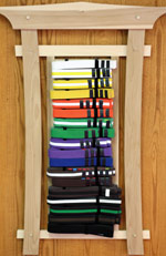 belt progression for IMA Karate in Louisville, Colorado