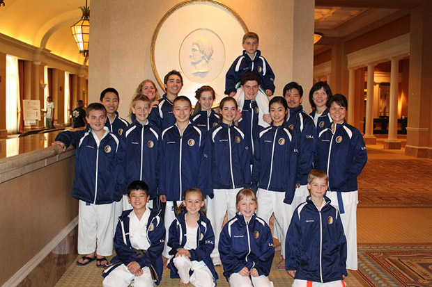 2012 IMA Karate Team members in Las Vegas for the US Open and Junior Olympics