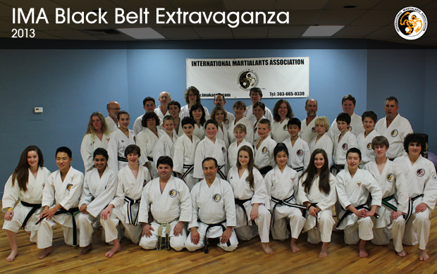 Congratulations to the new IMA Black Belts!