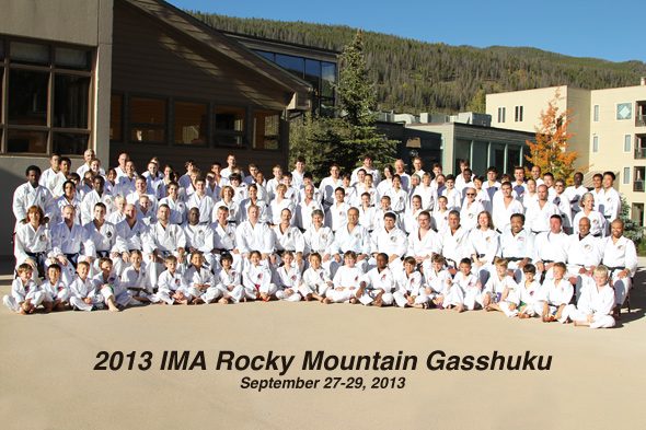 The 2013 IMA Rocky Mountain Gasshuku