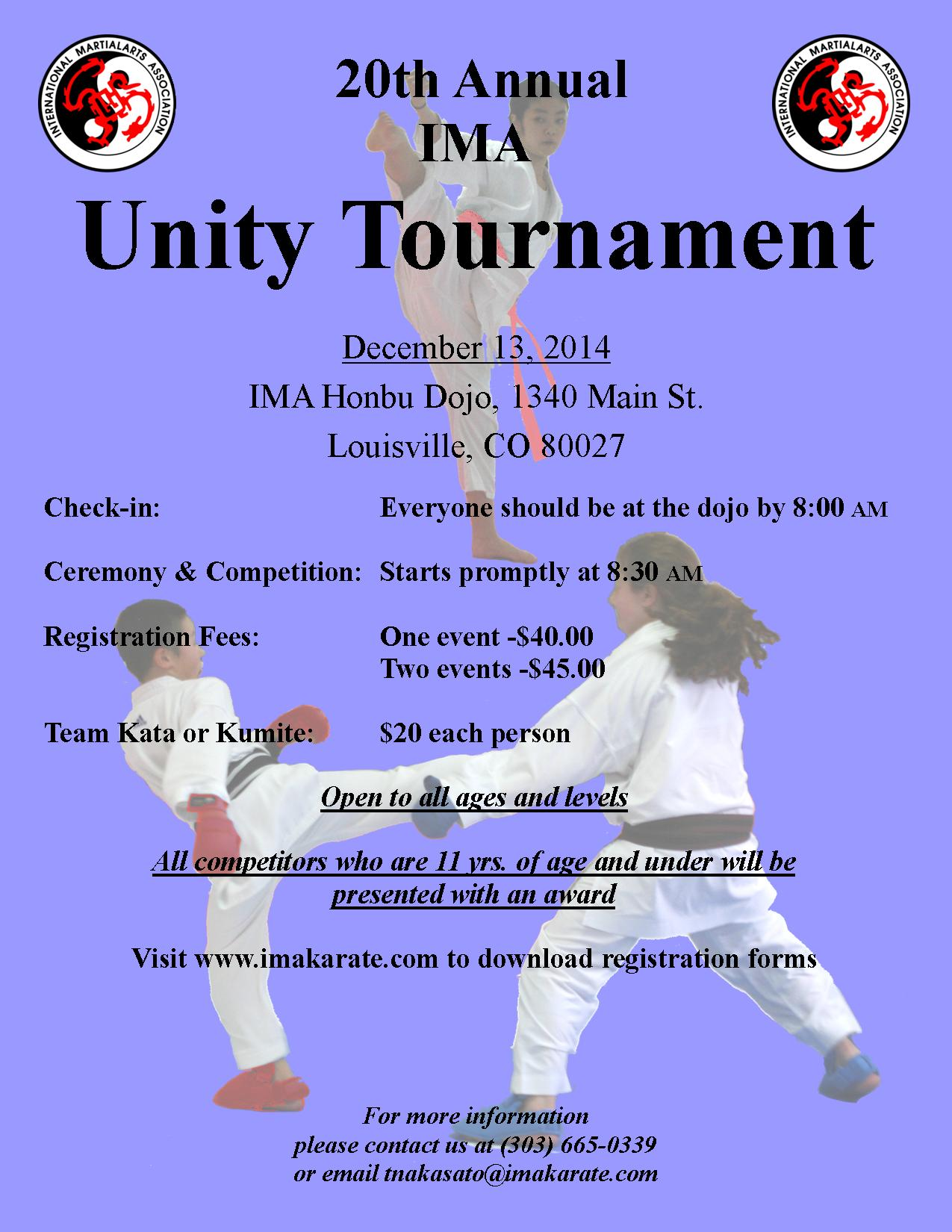 Unity Tournament Poster